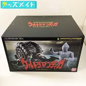 プレミアムバンダイ ガシャポン ウルトラヒーロー500&ウルトラ怪獣DX ウルトラマンティガ 光と闇の最終決戦セット 買取