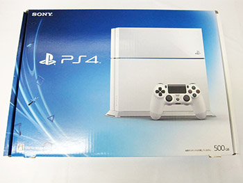 CUH-1100A B02 500GB Glacier White PS4 ゲーム買取