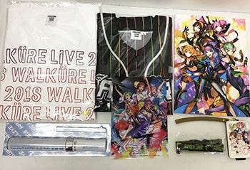 マクロスΔ WALKURE ワルキューレLIVE2018 Tシャツ , ペンライト , パスケース 他買取