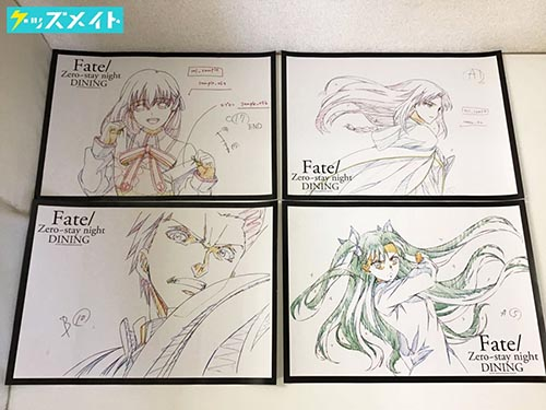 Fate/ZERO ~stay night DINING ランチョンマット 4種 買取