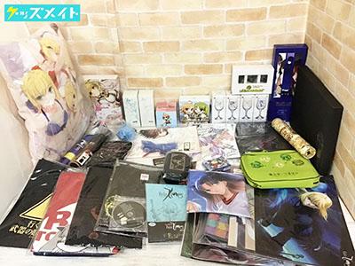 TYPE-MOON グッズ各種 Fate/stay night,Fate/zero,空の境界 他 Tシャツ クッション キーアニメションセット 等