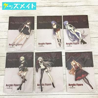 【未開封】同人グッズ Fate/Grand Order FGO アクリルスタンド 6種セット アルトリア・オルタ , ジャンヌ・オルタ 等 ASK 正経同人