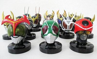 仮面ライダー ライダーマスクコレクション 各種買取