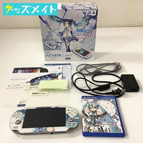 PSVITA本体 PCHJ-10002 初音ミク Project DIVA f Limited Edition クリスタルホワイト 買取