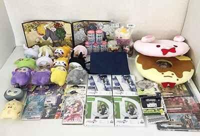 アイナナ きらどるますこっとぬいぐるみ、ブルーレイ、DVD、ドーナツ型クッション、ビジュアルクロス 等 アニメグッズ買取