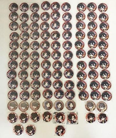 ヒプノシスマイク 缶バッジ Buster Bros!!! バスターブロス イケブクロ・デビジョン山田一郎 二郎 三郎買取