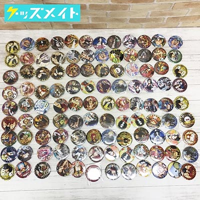 ワンピース 輩 YAKARA 缶バッジ 各種 まとめ売り 東京ワンピースタワー シャンクス ルフィ ナミ ガープ ジンベエ 他