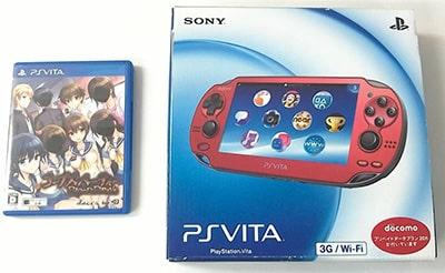 PS Vita本体 PCH-1100 レッド、ソフト コープスパーティー BLOOD DRIVE買取