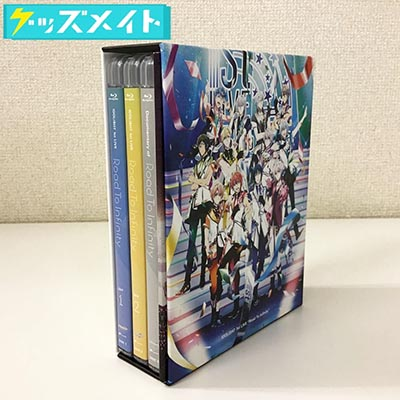ブルーレイ IDOLiSH7 1st LIVE Road To Infinity Blu-ray BOX -Limited Edition- 買取