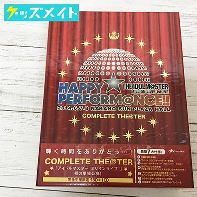 【未開封】ブルーレイ アイドルマスター THE IDOLM@STER MILLION LIVE! 1stLIVE HAPPY☆PERFORM@NCE!! COMPLETE THE@TER