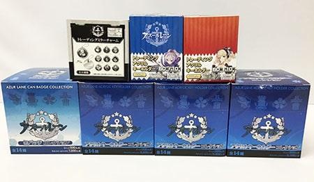 アズールレーン トレーディングアクリルキーホルダー VOL.1 VOL.2 缶バッジコレクション ミラーチャーム グッズ買取