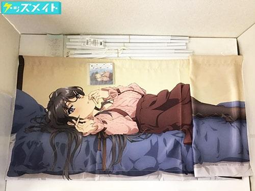 C95 コミケ 青春ブタ野郎はバニーガール先輩の夢を見ない 桜島麻衣 添い寝タペストリー Special CD『反省会』付き