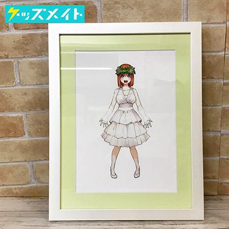 五等分の花嫁展 描き下ろしイベントビジュアル ミストグラフ 中野四葉 買取