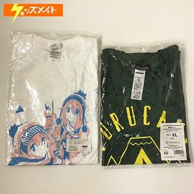 AMNIBUS ゆるキャン△ カレッジデザインTシャツ Men's XL , フクヤ ゆるキャン△ Tシャツ Lサイズ 買取