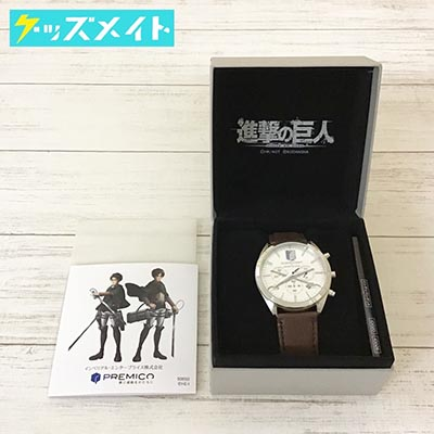 INDEPENDENT×進撃の巨人 オフィシャルコラボウォッチ 腕時計 リヴァイモデル