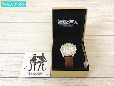 INDEPENDENT×進撃の巨人 オフィシャルコラボウォッチ 腕時計 エレンモデル