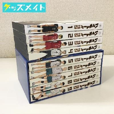 ブルーレイ ハイキュー!! セカンドシーズン 初回生産限定版 全9巻セット 買取