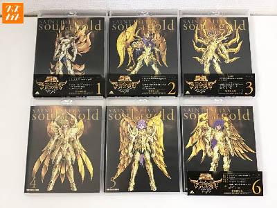 聖闘士星矢 黄金魂 soul of gold ブルーレイ 1巻~6巻 買取