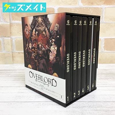 ブルーレイ OVERLORD オーバーロード 初回生産限定版 全6巻セット 収納BOX付き買取