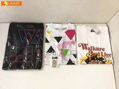 【未開封】マクロスΔ WALKURE 3rd LIVE ライブTシャツ Mサイズ , ワルキューレライブ 2017 スポーツタオル 他 買取