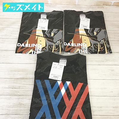 【未開封】COSPA コスパ ダーリン・イン・ザ・フランキス Tシャツ 2種 Mサイズ