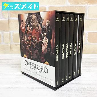 ブルーレイ OVERLORD オーバーロード 初回生産限定版 全6巻セット 収納BOX付き 買取